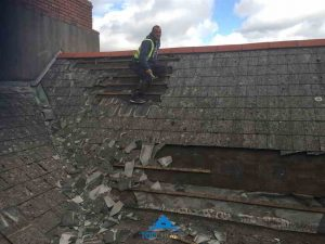 Roofing Being Repaired Dublin
